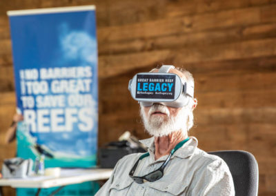 Virtual Reality with GBR Legacy